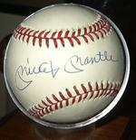 Mickey Mantle Autograph Ball